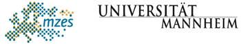 Logo Mannheimer Zentrum für Europäische Sozialforschung (MZES) der Universität Mannheim