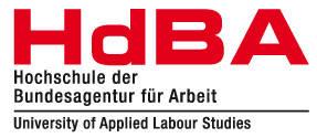Logo Hochschule der Bundesagentur für Arbeit (HdBA) Mannheim