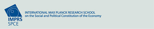 IMPRS-SPCE Max Planck Institute for the Study of Societies