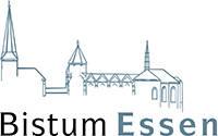 Logo des Dienstleistungsverbundes der Kirchengemeinden im Bistum Essen (KdÖR)
