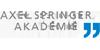 Crossmediale Ausbildung - Axel Springer Akademie - Logo