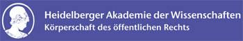 Logo Heidelberger Akademie der Wissenschaften