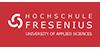 Professur im Schwerpunkt Recht im Sozial- und Gesundheitssystem - Hochschule Fresenius gem. GmbH - Logo
