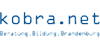 Wissenschaftlicher Mitarbeiter (m/w) für die Landeskooperationsstelle Schule - Jugendhilfe - kobra.net, Kooperation in Brandenburg, gemeinnützige GmbH - Logo