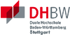 Professur (W2) im Studiengang Rechnungswesen, Steuern und Wirtschaftsrecht (RSW) - Duale Hochschule Baden-Württemberg (DHBW) Stuttgart - Logo