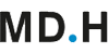 Professur (m/w) im Fachgebiet Game Development - Mediadesign Hochschule für Design und Informatik (MD.H) Berlin - Logo