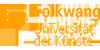 """Professur (W2) """"Ergonomie"""" mit Schwerpunkt erlebnisorientierte Gestaltung und Interaktion - Folkwang Universität der Künste Essen - Logo"""