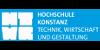 Professur (W2) Baustatik und Baudynamik / Professorship for Statics and Structural Dynamics - HOCHSCHULE KONSTANZ TECHNIK, WIRTSCHAFT UND GESTALTUNG - Logo