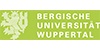 Wissenschaftlicher Mitarbeiter (m/w) Physik, Elektrotechnik, Physikalische Chemie - Bergische Universität Wuppertal - Logo
