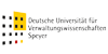 """Wissenschaftlicher Mitarbeiter (m/w) zur Weiterentwicklung des Blended Learning-Konzepts im Studiengang """"M.P.A. Wissenschaftsmanagement"""" - Deutsche Universität für Verwaltungswissenschaften Speyer - Logo"""