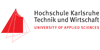 """Professur (W3) für das Fachgebiet """"Wasserbau"""" - Hochschule Karlsruhe Technik und Wirtschaft (HsKA) - Logo"""