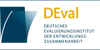 Evaluator (m/w) aus Programmmitteln für eine Studie zu Einstellungen zur Entwicklungspolitik und globaler Nachhaltigkeit - Deutsches Evaluierungsinstitut der Entwicklungszusammenarbeit (DEval) Bonn - Logo