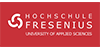 Wissenschaftlicher Mitarbeiter (m/w) im Fachgebiet Logopädie - Hochschule Fresenius gem. GmbH - Logo