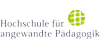 Professur Soziale Arbeit - Kinder- und Jugendhilfe - Hochschule für angewandte Pädagogik - Logo
