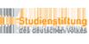 """Projekt """"Kontinuität und Diskontinuität in der Entwicklung der Studienstiftung angesichts der Systembrüche 1933 und 1945"""" - Studienstiftung des deutschen Volkes - Logo"""