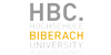 Projektleitung (m/w) für Organisationsentwicklung und Digitalisierung - Hochschule Biberach (HBC) - Logo