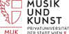 Leitung (m/w) des Studiengangs Jazz - Musik und Kunst Privatuniversität der Stadt Wien GmbH - Logo