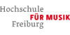Professur (W2) für Klavier / angewandtes Klavierspiel - Hochschule für Musik (HfM) Freiburg - Logo
