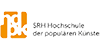 Professor (m/w/d) Betriebswirtschaft mit Schwerpunkt Institutionen- und Unternehmensentwicklung - SRH Hochschule der populären Künste (hdpk) - Logo