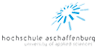 Wissenschaftlicher Mitarbeiter (m/w) im Bereich intelligenter Systeme und künstlicher Intelligenz, Fakultät Ingenieurwissenschaften - Hochschule Aschaffenburg - Logo