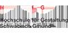 Creative Developer / Frontend Developer (m/w/d) für den Studiengang »Internet der Dinge - Gestaltung vernetzter Systeme« - Hochschule für Gestaltung Schwäbisch Gmünd - Logo