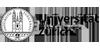Professur für Maschinelles Lernen in der Präzisionsmedizin (Doppelprofessur mit der Mathematisch-naturwissenschaftlichen Fakultät) - Universität Zürich - Logo