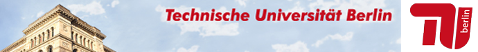 University Professor - TU Berlin - Image Header