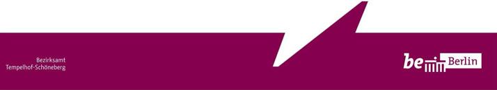 Leitung des Straßen- und Grünflächenamtes - Bezirksamt Tempelhof-Schöneberg - Logo
