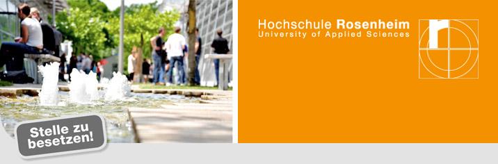 Professur (W2) - Hochschule Rosenheim - Logo