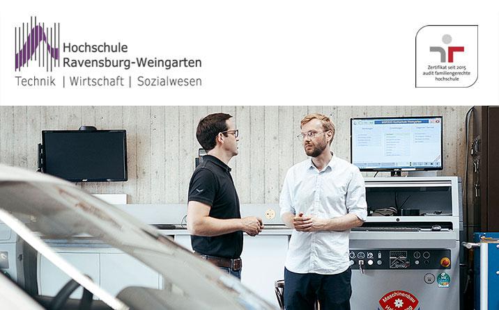 Akademischer Mitarbeiter (m/w/d) - Hochschule Ravensburg-Weingarten - Logo