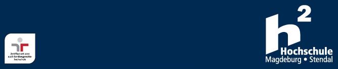 Vertretungsprofessur (W2) - Hochschule Magdeburg-Stendal - Logo