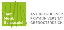 Professur für Musikanalyse - Anton Bruckner Privatuniversität - Logo