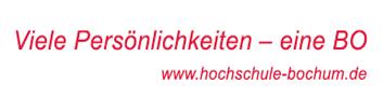 Professur (W2) für Liegenschaftskataster und Praktische Geodäsie - Hochschule Bochum - Logo