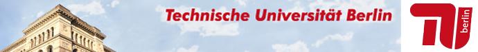 Wissenschaftlicher Mitarbeiter - TU Berlin - Image Header