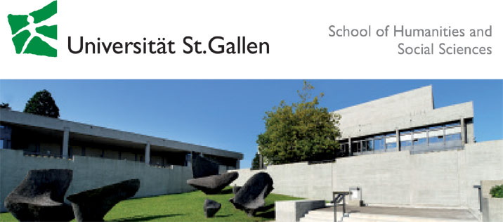 Assoziierte Professur für Soziologie der Digitalisierung - Universität St. Gallen - Logo