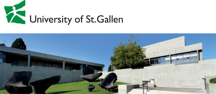 Associate Professorship of Digital Sociology - Universität St. Gallen - Logo