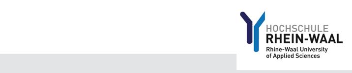 Lehrkraft für besondere Aufgaben - Hochschule Rhein-Waal - Logo