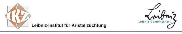 Doktorandenstelle (w/m/d) - Leibniz-Institut Kristallzüchtung - Logo