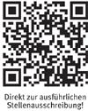 Professur (W2) für das Fachgebiet Regelungstechnik und Robotik - HsKA - QR-Code