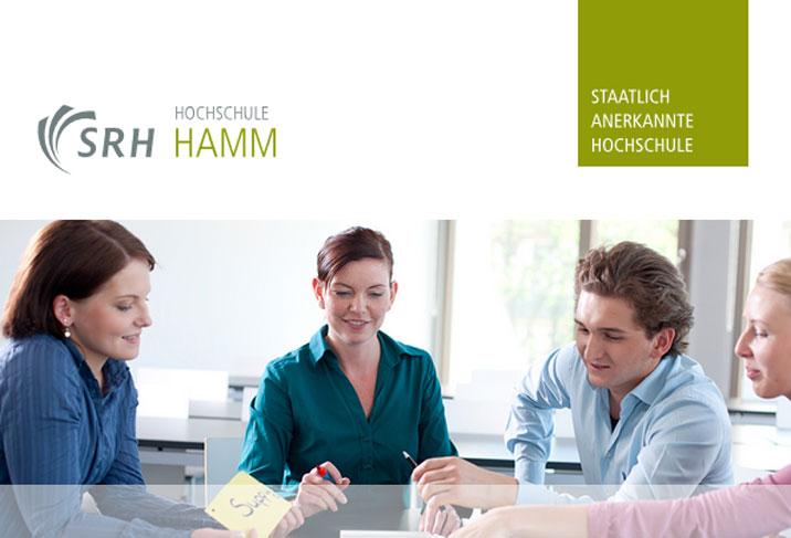 Professur für den Bereich soziale Arbeit - SRH Hochschule für Logistik und Wirtschaft Hamm - Logo
