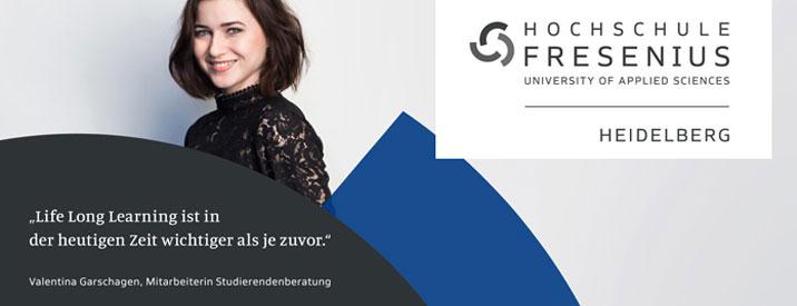 Professur im Bereich Psychologie - Hochschule Fresenius - Logo