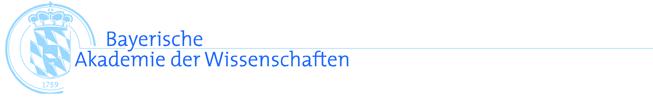Referent (m/w/d) für das Forschungsreferat - Bayerische Akademie der Wissenschaften - Logo