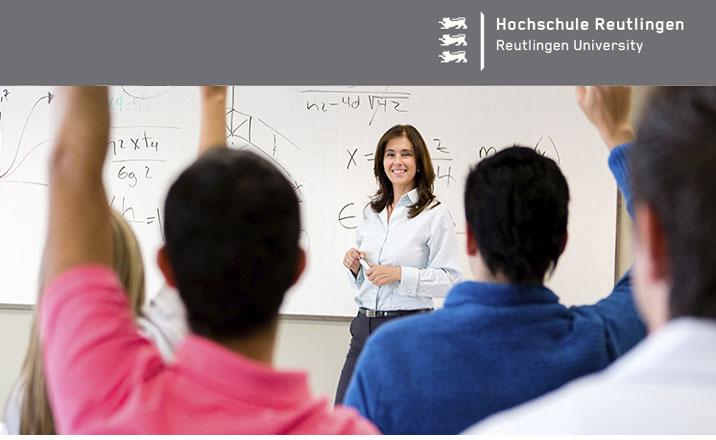 W2-Stiftungsprofessur - Hochschule Reutlingen - Logo