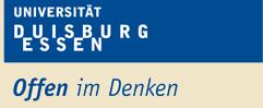 Universitätsprofessur (W2) - Universität Duisburg-Essen - Logo
