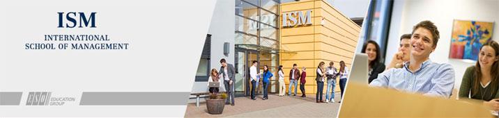 Professur (m/w/d) für Markenführung und Kreativwirtschaft - ISM - Logo