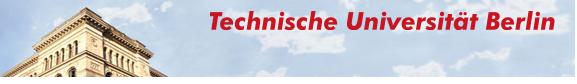 University Professorship (W3)  - TU Berlin - Image Header
