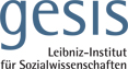 Full Professorship (W3) - gesis - Logo