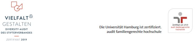 Universitätsprofessur (W3) - Uni Hamburg - Zertifikat