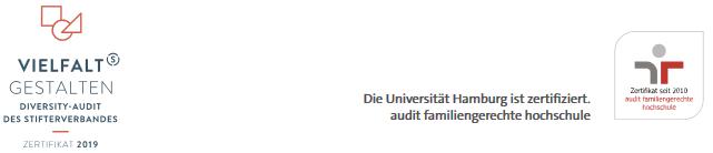 W1 Juniorprofessur für WIRTSCHAFTSPÄDAGOGIK - Uni Hamburg - Zertifikat