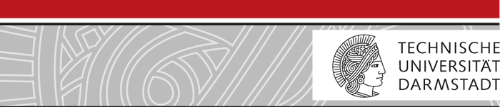 Professur (W3) - TU Darmstadt - Logo